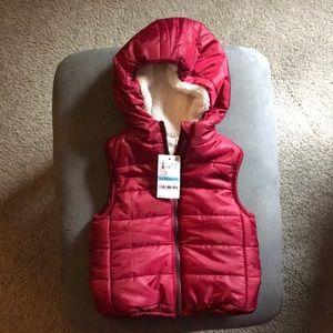 Baby puffy vest